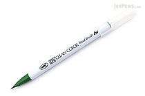 Kuretake Zig Clean Color Real Brush Pen - Deep Green (044) - KURETAKE RB-6000AT-044