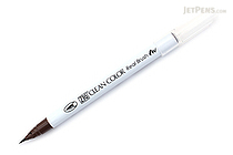 Kuretake Zig Clean Color Real Brush Pen - Dark Brown (062) - KURETAKE RB-6000AT-062