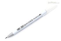 Kuretake Zig Clean Color Real Brush Pen - Light Gray (091) - KURETAKE RB-6000AT-091