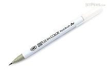 Kuretake Zig Clean Color Real Brush Pen - Pale Dawn Gray (098) - KURETAKE RB-6000AT-098