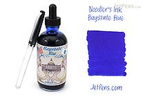 Noodler's Baystate Blue Ink - 4.5 oz Bottle with Free Pen - NOODLERS 19811
