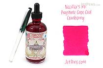 Noodler's Baystate Cape Cod Cranberry Ink - 4.5 oz Bottle with Free Pen - NOODLERS 19813