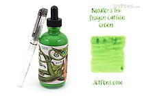 Noodler's Dragon Catfish Green Ink - 4.5 oz Bottle with Free Pen - NOODLERS 19816