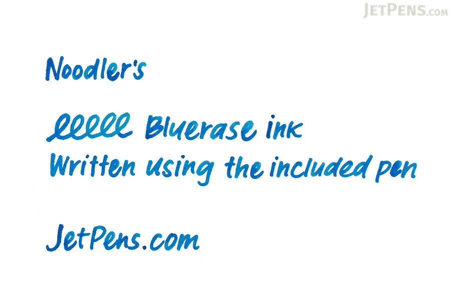 Noodler's Bluerase Ink - 4.5 oz Bottle with Free Pen - NOODLERS 19822