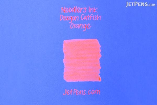Noodler's Dragon Catfish Orange Ink - 4.5 oz Bottle with Free Pen - NOODLERS 19817