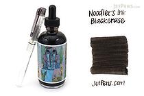 Noodler's Blackerase Ink - 4.5 oz Bottle with Free Pen - NOODLERS 19821
