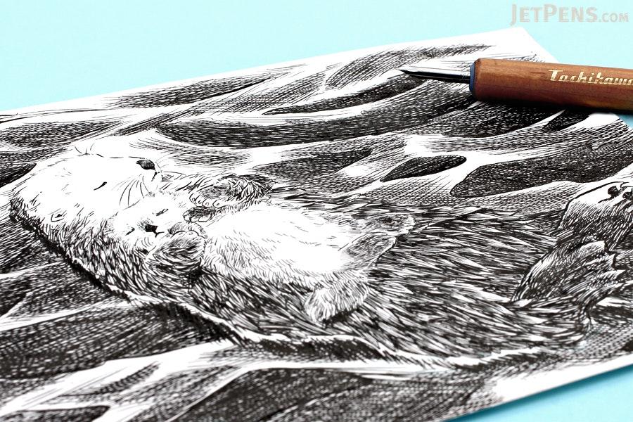 Tachikawa Comic Pen Nib - Maru (Mapping) Model - Pack of 10 - TACHIKAWA 99