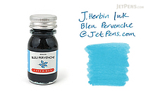 J. Herbin Bleu Pervenche Ink (Periwinkle Blue) - 10 ml Bottle - J. HERBIN H115/13