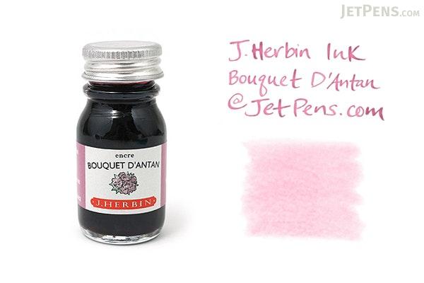 J. Herbin Bouquet d'Antan Ink (Bouquet of Yesteryear Pink) - 10 ml Bottle - J. HERBIN H115/64