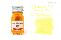 J. Herbin Bouton d'Or Ink (Buttercup Yellow) - 10 ml Bottle - J. HERBIN H115/53