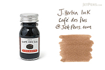J. Herbin Café des Îles Ink (Island Coffee Brown) - 10 ml Bottle - J. HERBIN H115/46