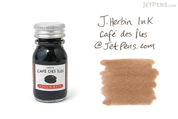 J. Herbin Café des Îles Ink (Island Coffee Brown) - 10 ml Bottle - J. HERBIN H115/46