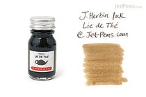 J. Herbin Lie de Thé Ink (Tea Brown) - 10 ml Bottle - J. HERBIN H115/44