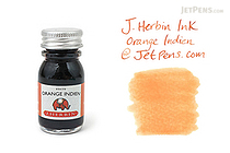 J. Herbin Orange Indien Ink (Indian Orange) - 10 ml Bottle - J. HERBIN H115/57