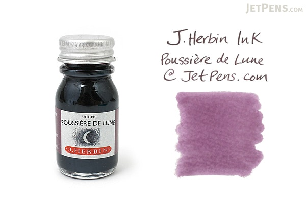 J. Herbin Poussière de Lune Ink (Moon Dust Purple) - 10 ml Bottle - J. HERBIN H115/48