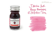 J. Herbin Rouge Bourgogne Ink (Burgundy) - 10 ml Bottle - J. HERBIN H115/28