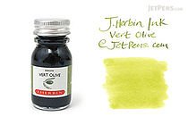 J. Herbin Vert Olive Ink (Olive Green) - 10 ml Bottle - J. HERBIN H115/36