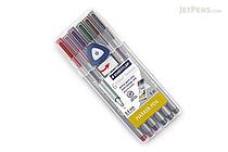 Staedtler Triplus Fineliner Pen - 0.3 mm - Nature Colors - 6 Color Set - STAEDTLER 334SB6C2US