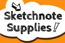 Sketchnote Supplies