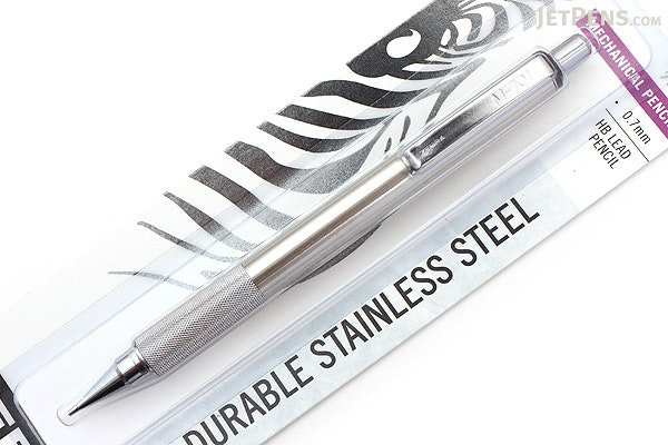 Zebra M-701 Stainless Steel Mechanical Pencil - 0.7 mm - ZEBRA 59411