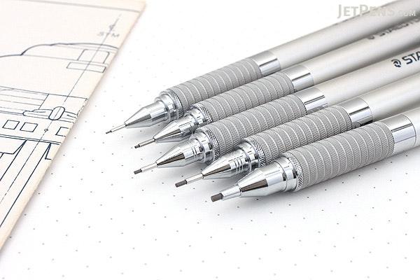 Staedtler 925-25 Silver Series Drafting Pencil - 0.7 mm - STAEDTLER 92525-07