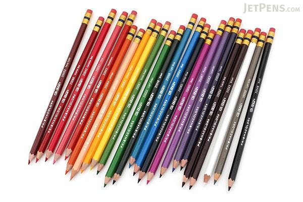 Prismacolor Col-Erase Colored Pencil - 24 Color Set - PRISMACOLOR 20517