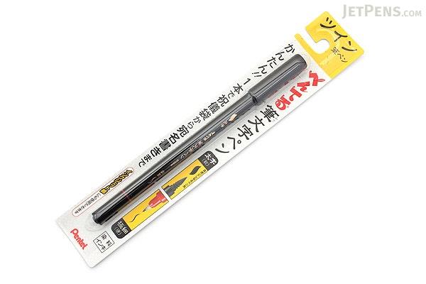 Pentel Fudemoji Double-Sided Brush Pen - Extra Fine / Bold - PENTEL XSFW34A