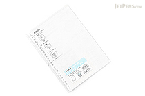 Kokuyo Campus Smart Ring Binder Notebook - B5 - 26 Rings - Clear - KOKUYO RU-SP700NT