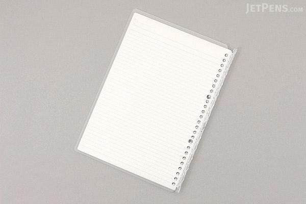 Kokuyo Campus Smart Ring Binder Notebook - B5 - 26 Rings - Clear - KOKUYO RU-SP700NT