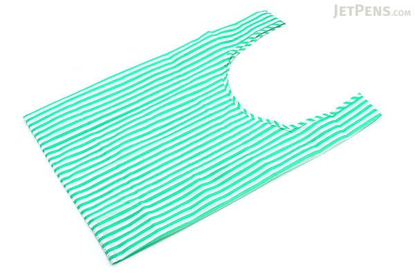 BAGGU Standard Baggu Reusable Bag - Mint Stripe - BAGGU STANDARD MS