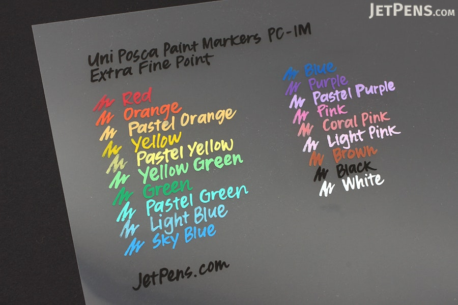 Uni Posca Paint Marker PC-1M - Coral Pink - Extra Fine Point - UNI PC1M.66