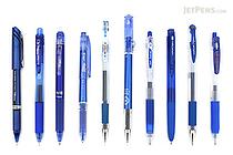 JetPens Blue Gel Pen Sampler - JETPENS JETPACK-035