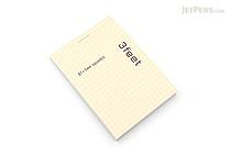 Maruman 3feet Notepad - B7 - Graph - MARUMAN N765