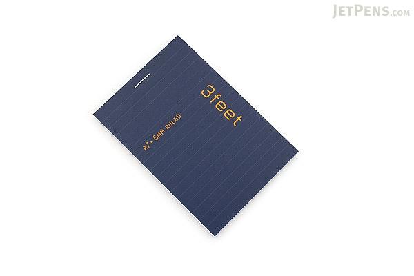 Maruman 3feet Notepad - A7 - 6 mm Rule - MARUMAN N766