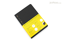 Stalogy Editor's Series 365Days Notebook - A6 - Black - STALOGY S4103