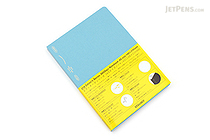 Stalogy Editor's Series 365Days Notebook - A5 - Blue - STALOGY S4106