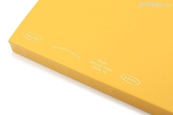 Stalogy Editor's Series 365Days Notebook - A5 - Yellow - STALOGY S4107