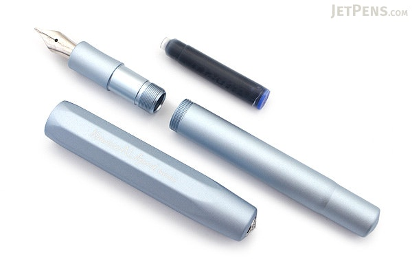 Kaweco AL Sport Fountain Pen - Light Blue - Extra Fine Nib - KAWECO 10001197