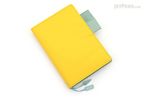 Hobonichi Techo Planner with Cover - 2017 - A6 - Pineapple Yellow - HOBONICHI TECHO C 2017 PY