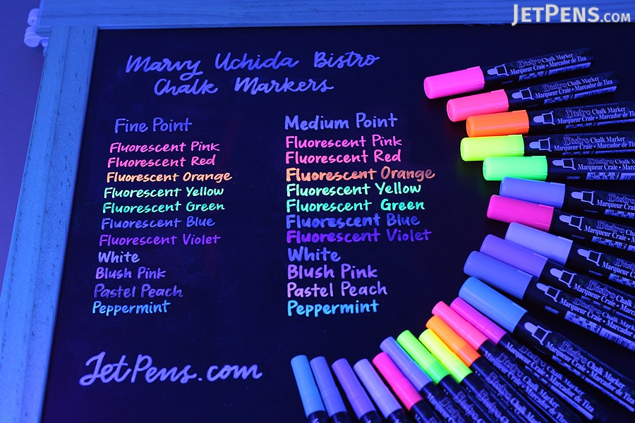 Marvy Uchida Bistro Chalk Marker - Medium Point - Pastel Peach - MARVY 480-S #77