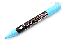Marvy Uchida Bistro Chalk Marker - Medium Point - Fluorescent Blue - MARVY 480-S #F3