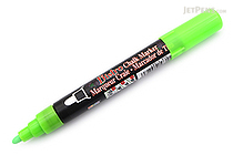 Marvy Uchida Bistro Chalk Marker - Medium Point - Fluorescent Green - MARVY 480-S #F4