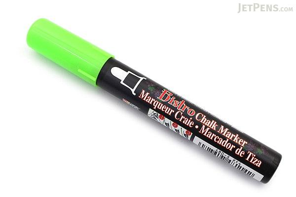 Marvy Uchida Bistro Chalk Marker - Medium Point - Fluorescent Green - MARVY 480-S #F4