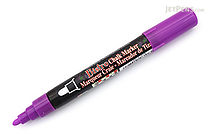 Marvy Uchida Bistro Chalk Marker - Medium Point - Fluorescent Violet - MARVY 480-S #F8