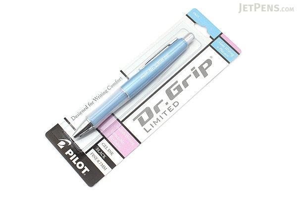 Pilot Dr. Grip Limited Gel Pen - Blue Body - Black Ink - PILOT 36271