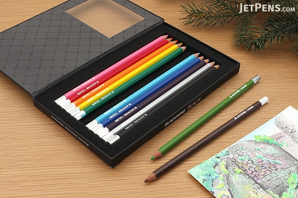 Palomino Blackwing Colors Colored Pencils - Pack of 12 - PALOMINO 103888