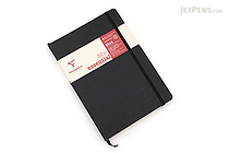 Clairefontaine My Essential Notebook - A5 - Lined - Black - CLAIREFONTAINE 793461C
