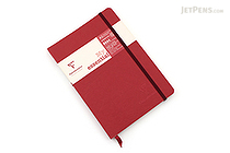 Clairefontaine My Essential Notebook - A5 - Lined - Red - CLAIREFONTAINE 793462C