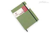 Clairefontaine My Essential Notebook - A5 - Lined - Green - CLAIREFONTAINE 793463C