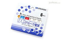 Umajirushi DC Chalk DX - 4 Colors - Pack of 6 - UMAJIRUSHI DX350